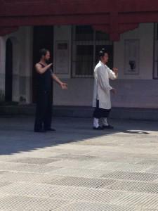 2014, Wu Xing Qi Gong Training, Wudangshan, China