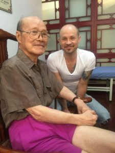 2018, Teacher of my teachers, Dr. Wu Boping (meanwhile retired), Zhejiang Chinese Medical University, Hangzhou, China